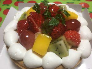 いちご祭り イチゴとフルーツのタルト