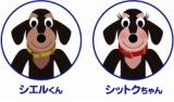 株式会社シエルホームのイメージキャラクター犬